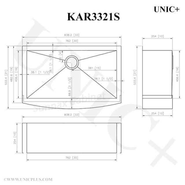 Kitchen Cabinets Port Coquitlam: KAR3321S